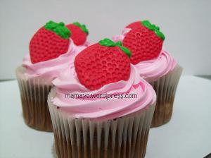 cupcake stawberry