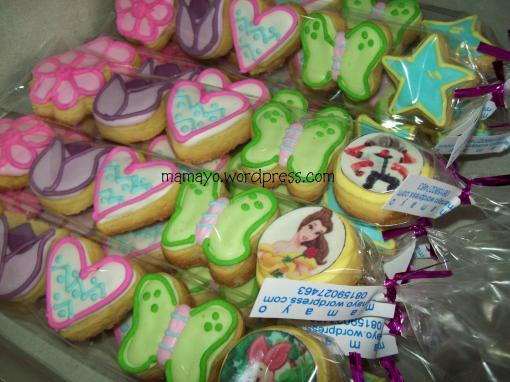 sugar cookies/kukis hias