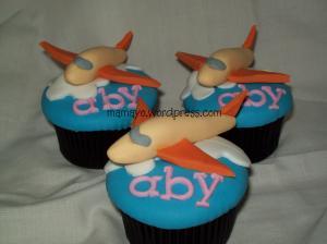 cupcakes pesawat