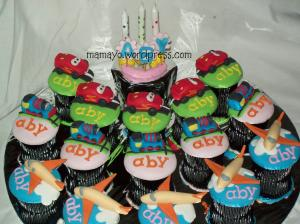 cupcake alat transportasi