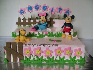 mikey n minnie cake