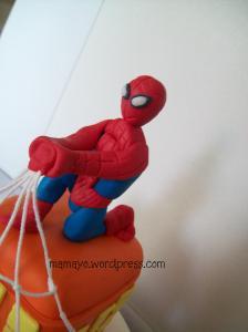 figur spidermannya