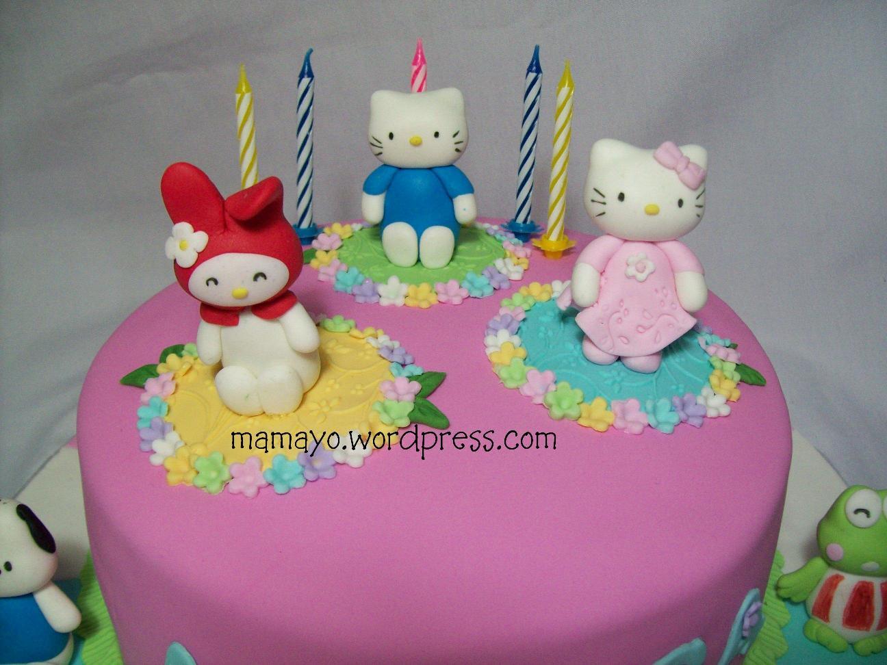 Hello Kitty Cake Buat Anisa Mamayo