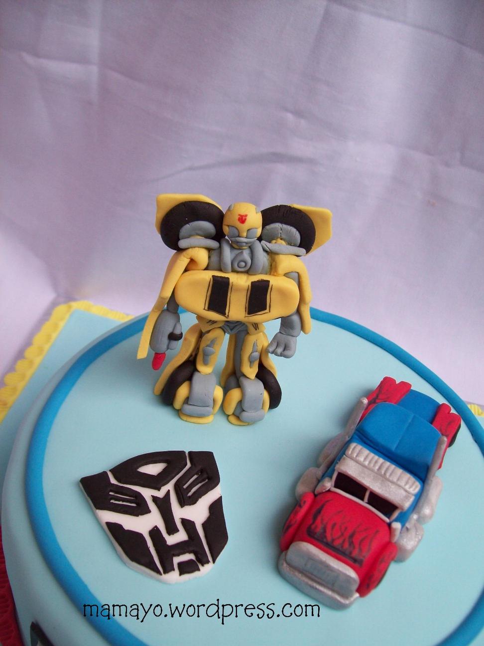 Transformers Cake Tuk Amoroso Mamayo