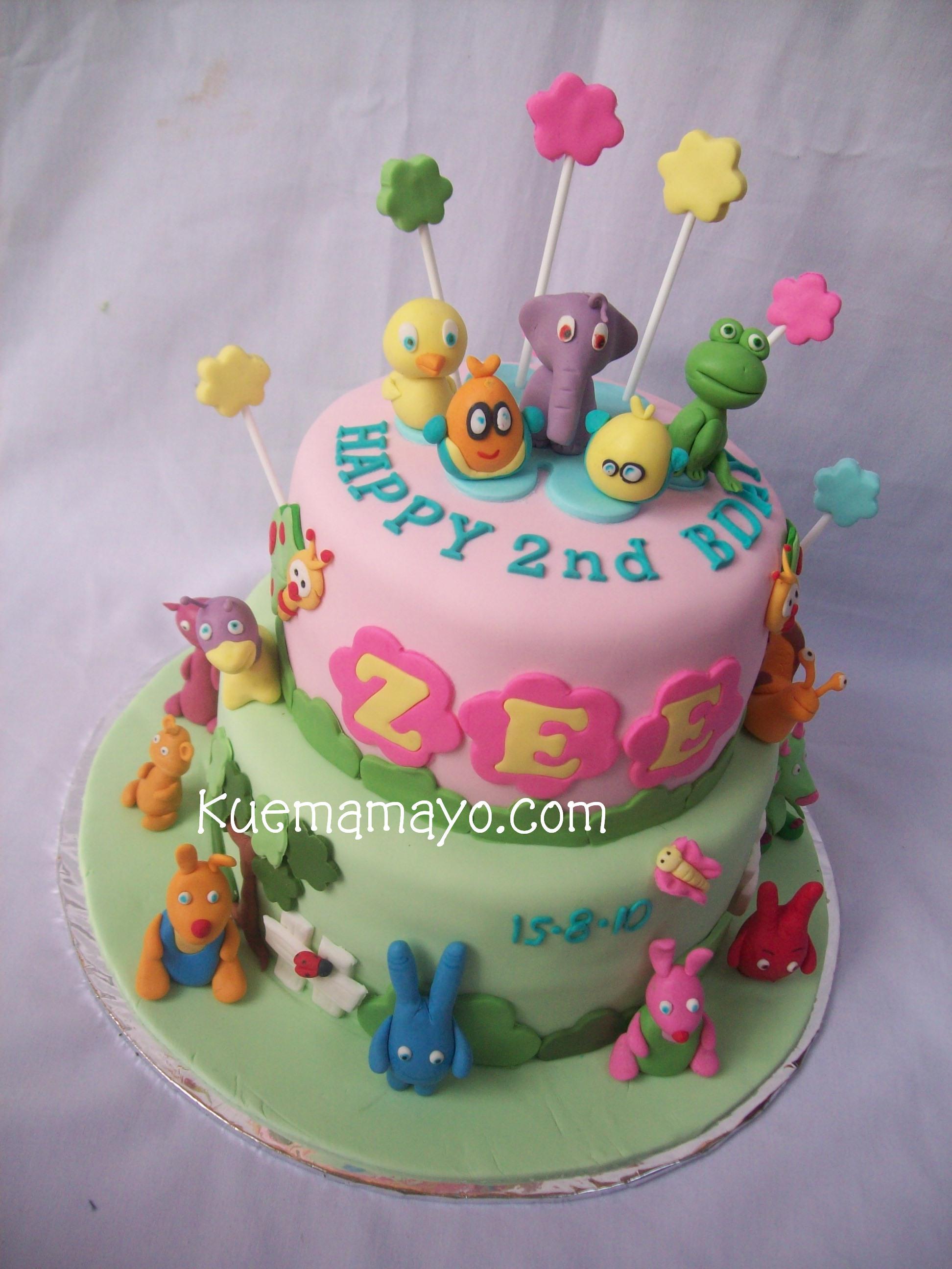 Baby Tv Cake Mamayo
