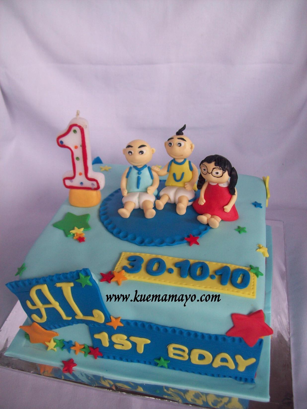Upinipin cake Abercio Mamayo