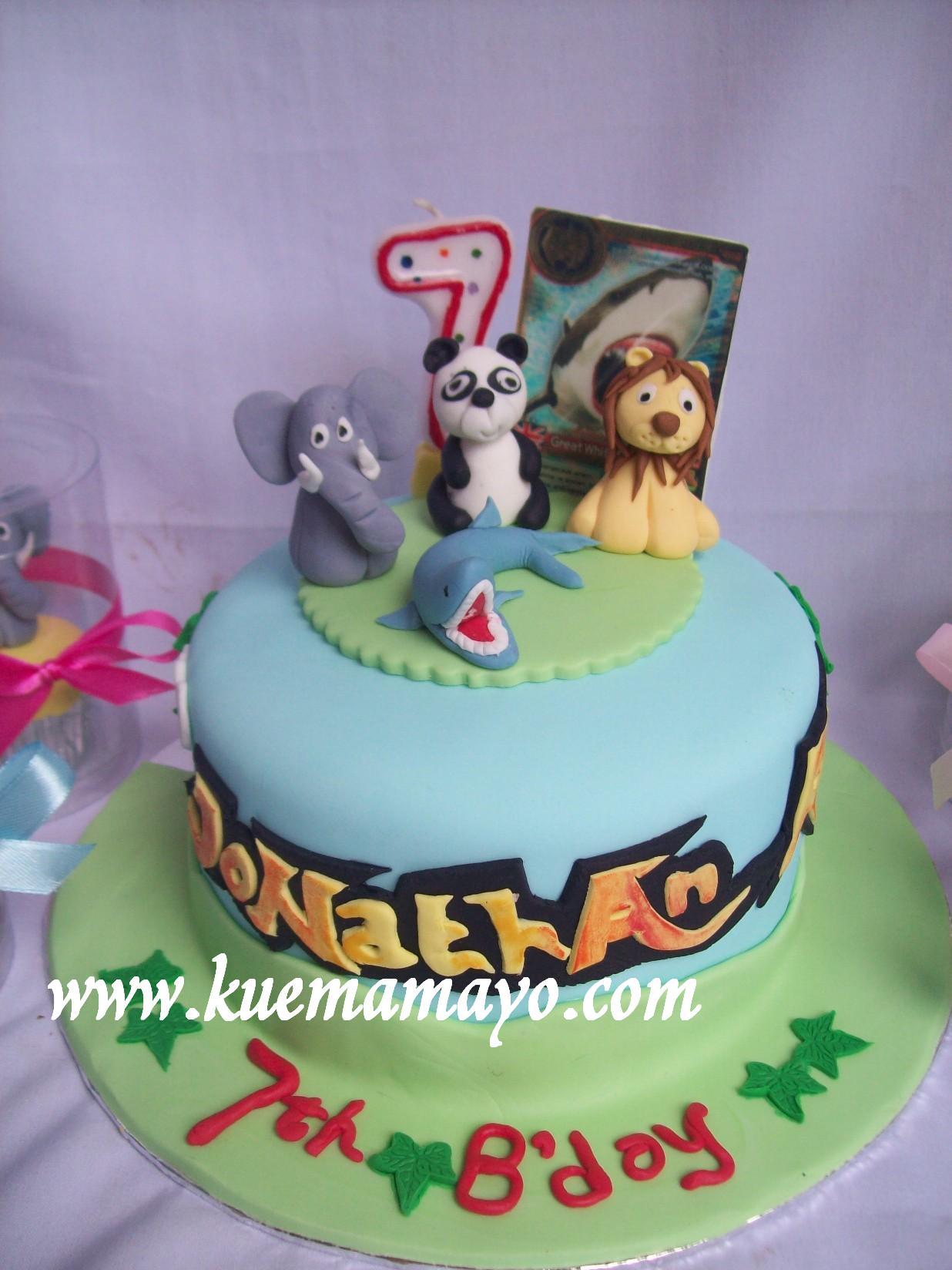 Animal Kaiser cake Jonathan Mamayo