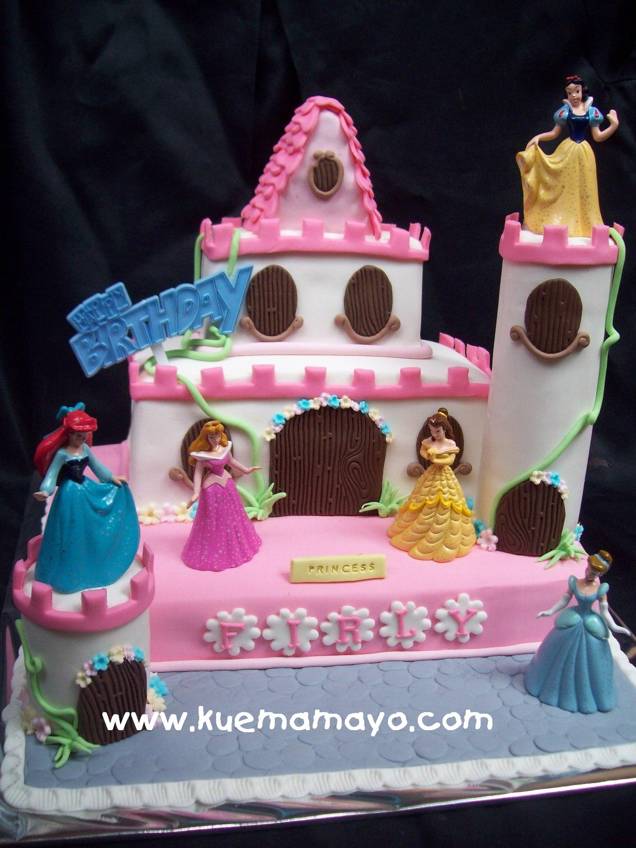Princess In A Castle Cake Firly Mamayo