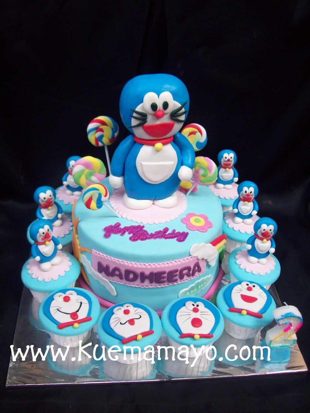 doraemon b day cake nadheera mamayo
