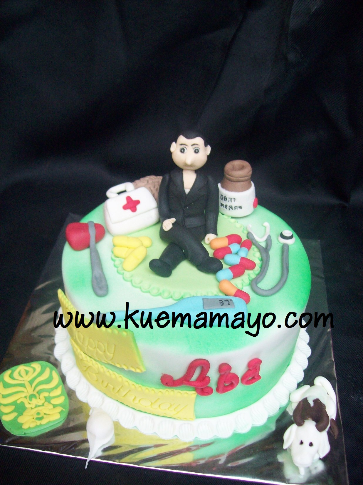 Doctor Themed Cake Abi Mamayo