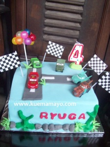 cars mc queen cake