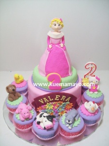 little princess cake  an cupcake