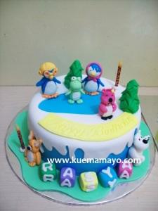 Pororo cake
