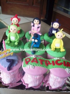 Teletubbies cupcakes