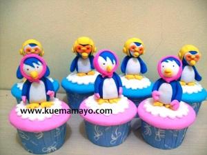 Pororo cupcake