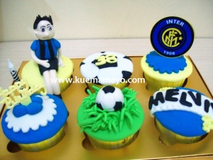 Intermilan cupcake set