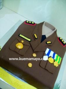 Uniform cake