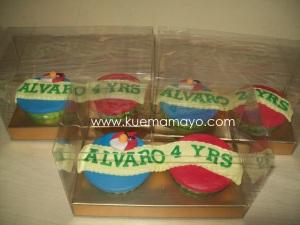 Angry bird cupcake set