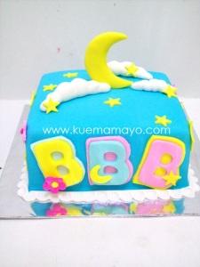 Cake for bunga bulan bintang