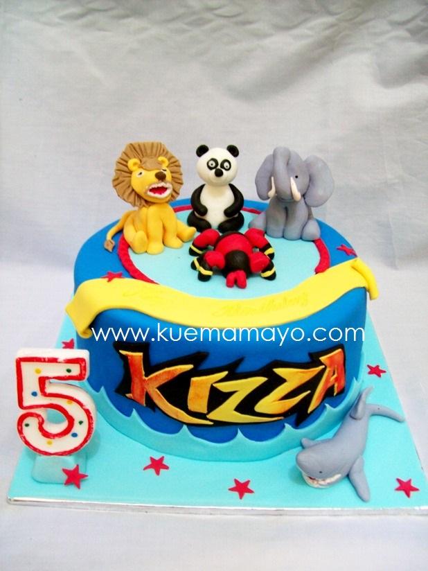 Animal kaiser cake Mamayo