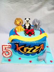 Animal kaiser cake
