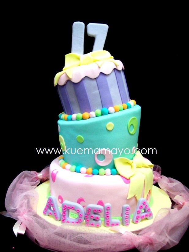 Sweet Seventeen Birthday Cake Mamayo