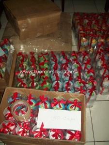 300 Angry bird cupcake