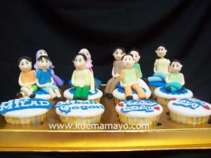 Family member cupcake set