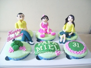 Cupcake set buat papa