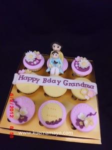 Cupcake for grandma