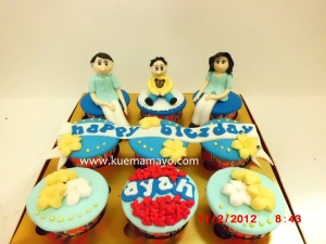 Cupcakes untuk ayah