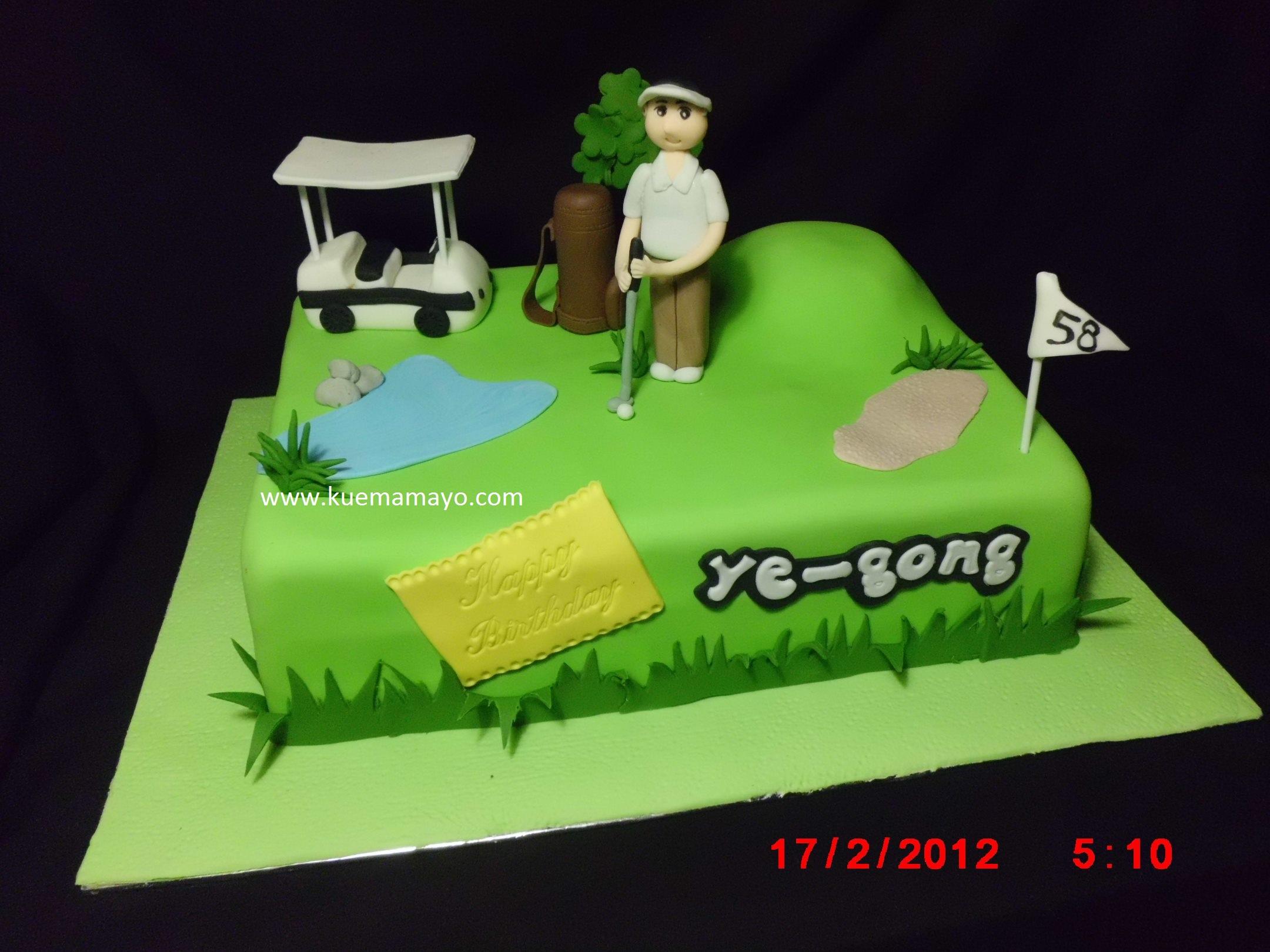 Golf cake Mamayo