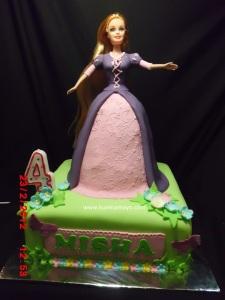 Barbie cake