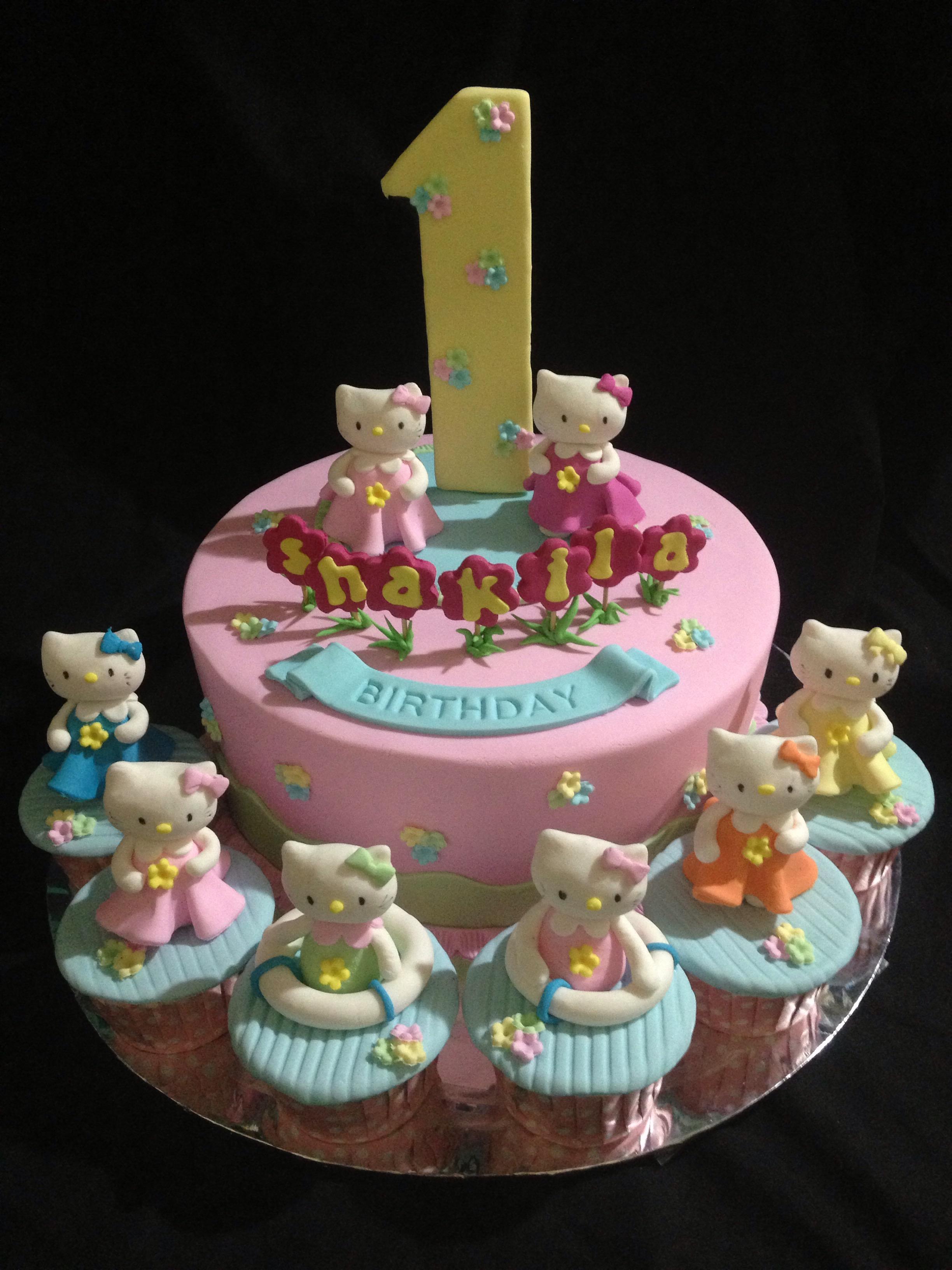 Hello Kitty Cake Dan Cupcake Mamayo